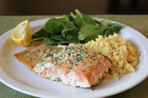 Lemon & Garlic Butter Salmon