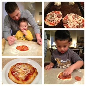 Easy Homemade Pizzas