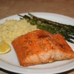 Soy & Brown Sugar Glazed Salmon Recipe