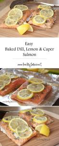 Easy Baked Dill, Lemon & Caper Salmon_1