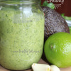 Simple Avocado Cilantro-Lime Dressing | www.fireflytales.net