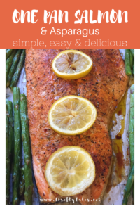 Sheet Pan Salmon {Super Easy Recipe}